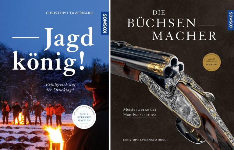 Cover der veröffentlichen Bücher von Christoph Tavernaro